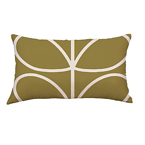 Whiskyky Store Geometry Painting Linen Cushion Cover Throw Pillow Case Sofa Home Decor -Army Green