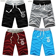 03fbbfd6764d6 4 In 1 Adjustable Men's Cotton Shorts Pants Gym Trousers Sport Jogging