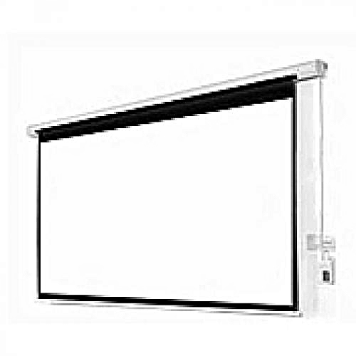 """Electric Projector Screen 96"""" X 96"""" With Remote Control"""