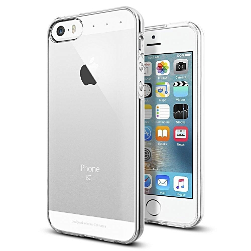 IPhone 5 / 5S / SE Case, Crystal Clear Silicon Soft TPU Cover Phone Casing