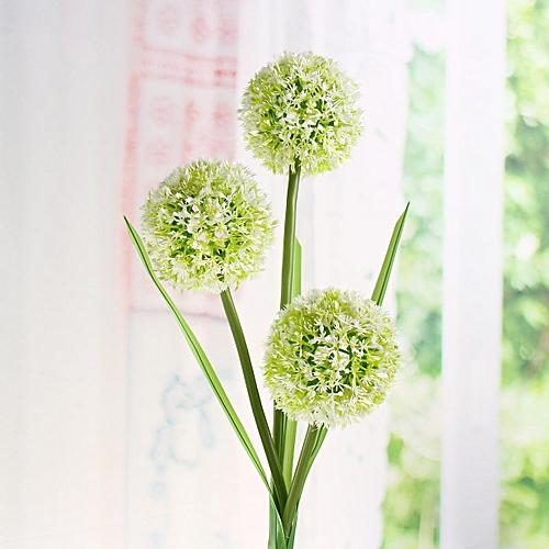 Solar Power Dandelion Flower LED Light Outdoor Garden Yard Lawn Landscape Lamp White