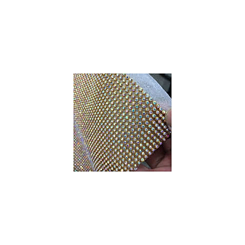 Clothing Accessories, Rhinestone Embelishment, Aluminum Mesh For Cloths, Cake Decorations, Hats, Bags,shoes. 120cm By 45 Cm