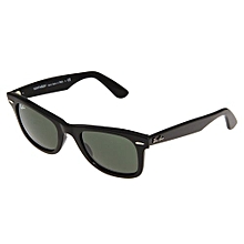 2018e223d0a Ray-Ban RB2140 Wayfarer 50mm - One Size - Black G-15xlt Lens