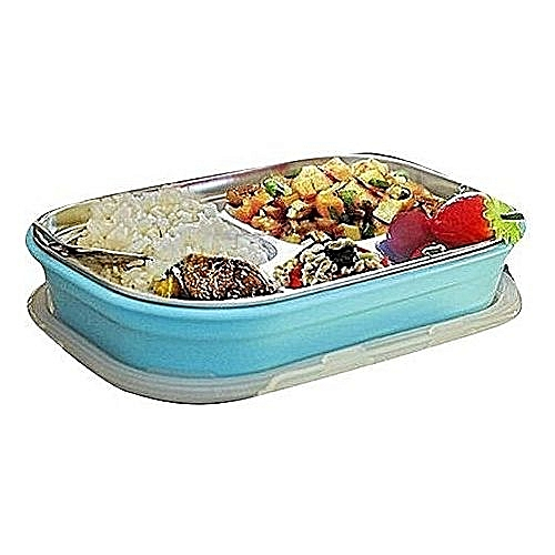 Partitioned Plates Stainless Steel Preservation Lunch Boxes
