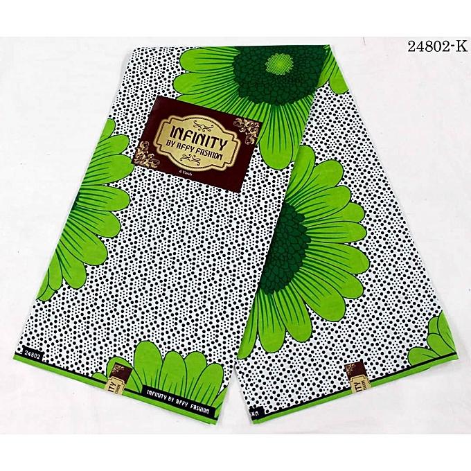 Infinity Well Detailed Pattern Ankara Fabric 1