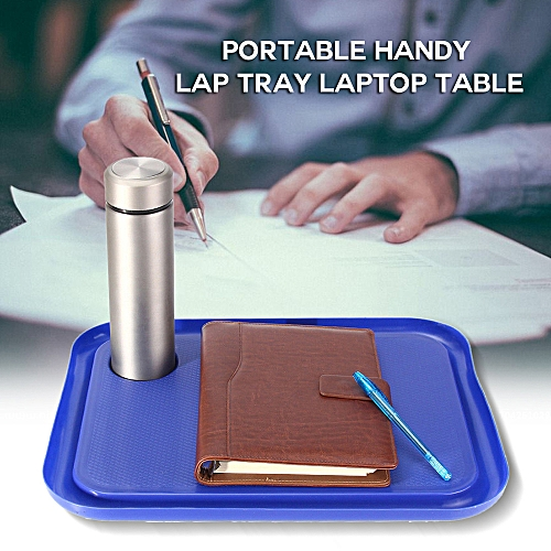 Portable Handy Lap Tray Laptop Table Outdoor Study Desk Lazy Tables 42 X 32cm