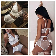df8a9c096ca Women  039 s Fishnet Bra And Pant Sexy Lingerie -white