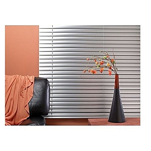 Aluminium Window Blinds (Silver)