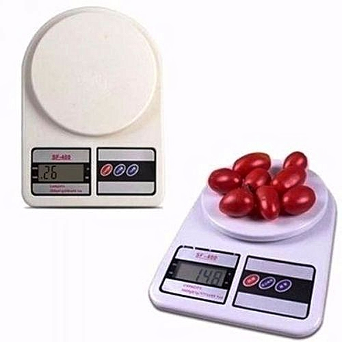 Electronic Kitchen Scale + Free Battery (7kg)