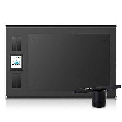 """Huion DWH69 9x6"""" 2.4GHz Wireless 2048 Levels LCD Graphics Tablet Digital Drawing Pad With Pen"""