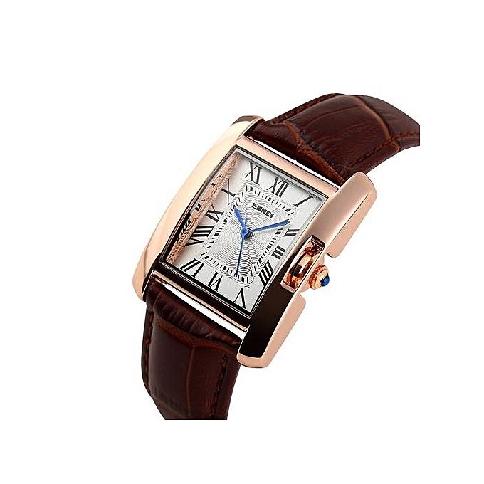 4ad167da5f9 Women Watches Elegant Retro Casual Brand Luxury Women s Quartz Female  Leather Lady Wristwatches