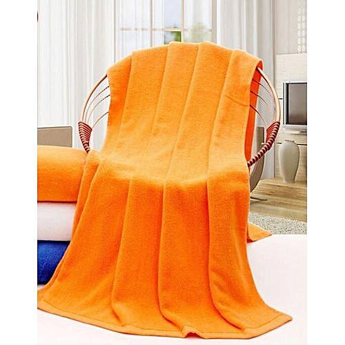 ORANGE BATHING TOWEL (EXTRA LARGE)