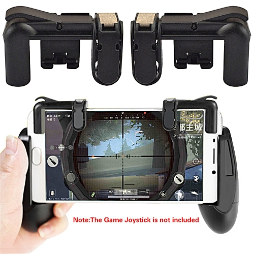 For Pubg Gamepad For Mobile Phone Game Controller Shooter Trigger Fire Button -Black