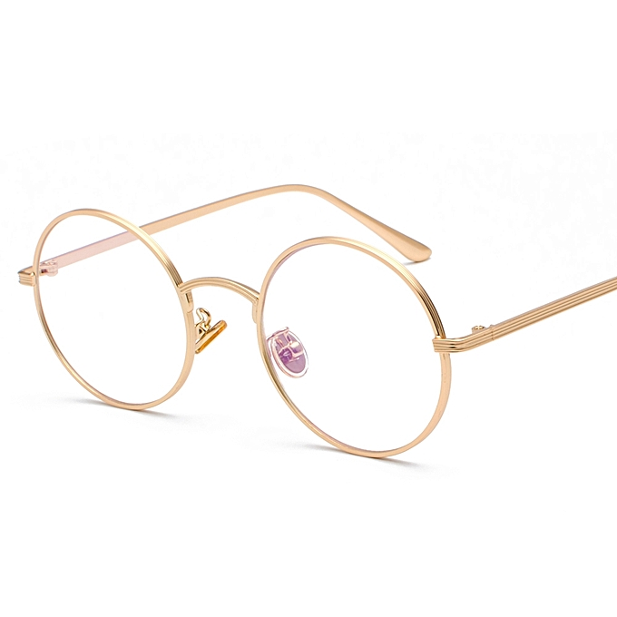 11ee0969533 Peekaboo Women Eye Glasses Frames Round For Men Vintage Retro - Gold ...