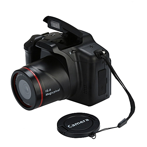 16MP 1080P 16X Zoom 2.4 Inch TFT Screen Anti-shake Digital SLR Camera With Builte CMOS Sensor Cameras Built-in Microphones CHSMALL