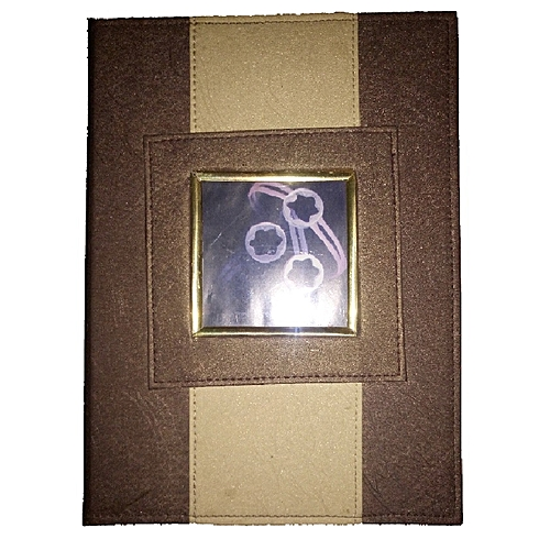 Hand Craft Leather Photo Album - A4 NoteBook Style