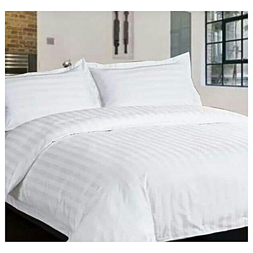 Duvet, +Bedsheets + Four Pillowcase