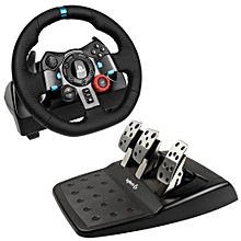 Logitech Dual-motor Feedback Driving Force G29 Racing Wheel With Responsive Pedals For PlayStation 4 And PlayStation 3-black for sale  Nigeria