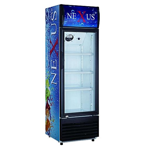 Nexus Showcase Fridge 401L NX401