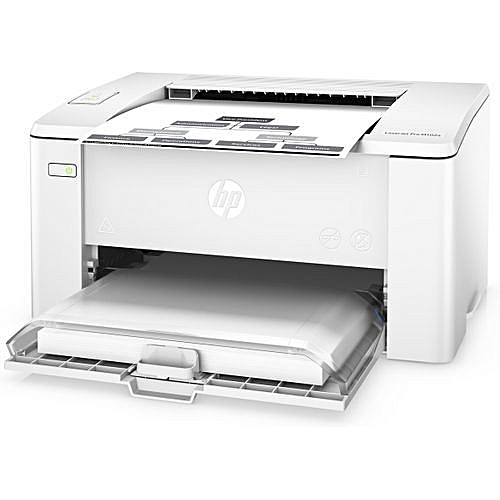 Hp Pro M102w Wireless Laserjet Printer - Black And White