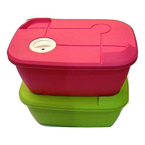 Microwave Plastic Container - 2pcs