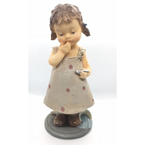 Figurine : Girl In Pink Gown