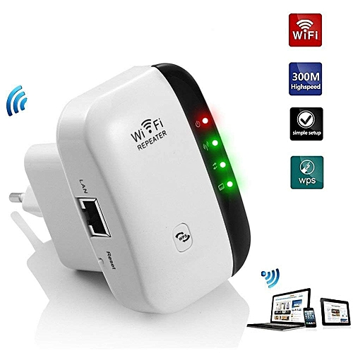300Mbps Wireless WiFi Repeater/Extender/AP/WI-FI Signal Range  Amplifier/Booster,2 4G Portable WiFi Signal Range Extender With WPS For  Router Home