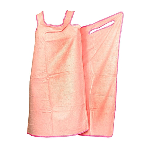 Female Body Bath Rope Wrap Towel - Pink