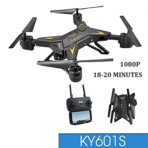 Drone KY601s WiFi FPV Remote Control RC Drone RTF 1080P Camera 20 Minutes Fly Time
