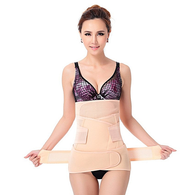 c02631c25b 3 In1 Elastic Postnatal Waist Belt Postpartum Recovery Girdle Slimming  Shapers Underwear