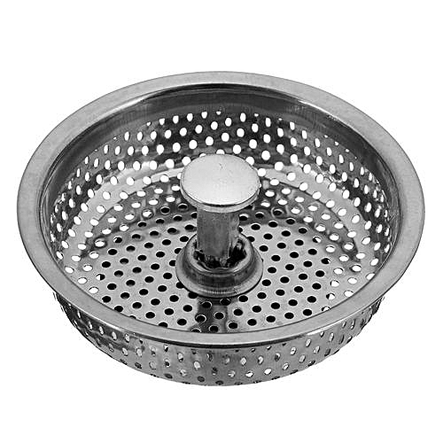 Free Shipping Kitchen Stainless Steel Sink Strainer Waste Disposer Plug Drain Stopper Filter