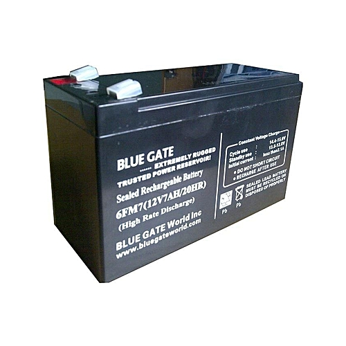 GENUINE UPS Replacement Battery 12V/7AH - Black
