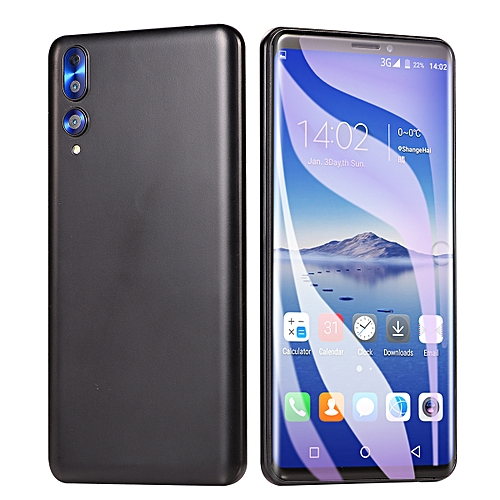 "5.8"" 3G Smartphone MTK6580 4G RAM+32GB ROM Android OS 6.0 Camera 2.0MP+2.0MP - Multi/Black"