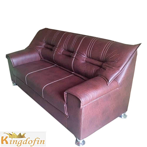 Generic 3 Seater Leather Sofa ( Delivery Within Lagos)   Jumia.com.ng