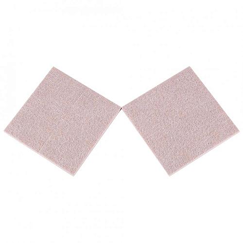 Self Adhesive Diamond Shape Floor/Furniture/Chair/Scratch Protector Felt Protective Pads (8pcs Beige)