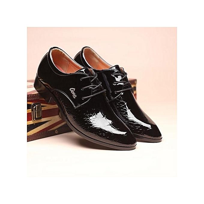 d93ac54f2ace Men Dress Shoes Genuine Leather 2017 Fashion Men s Oxford Shoes Leather  Wedding Shoe Lace-up