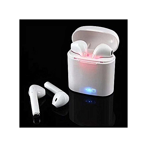 TWS I7s Wireless In-Ear Bluetooth Earbuds Twins Earphone With Charging Box