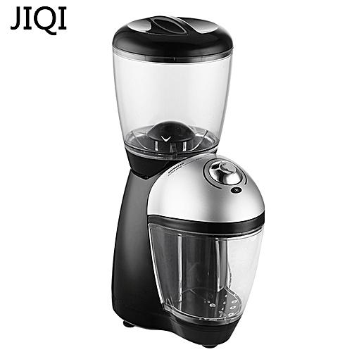 JIQI Professional Italian Electric Coffee Grinder ELECTRICAL COFFEE MILL Machine 110V 220V EU