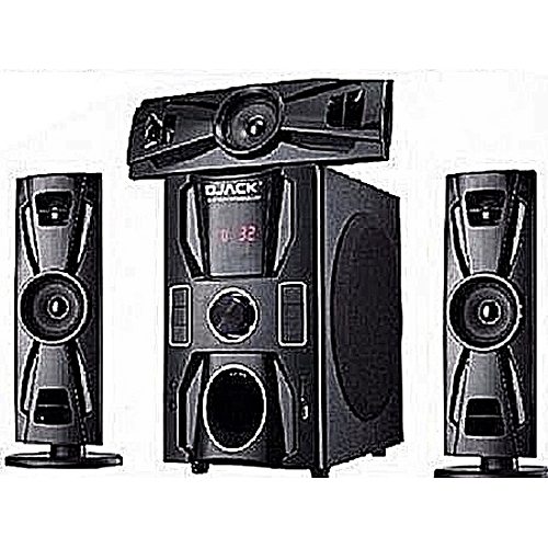 Djack Home Theatre With Perfect Bluetooth + DVD