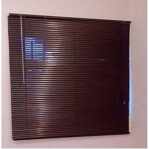 Window Blinds Aluminium Brown