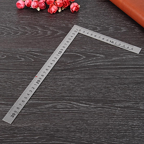 Affordable Stainless Steel 150 X 300mm 90 Degree Angle Metric Try Mitre Square Ruler