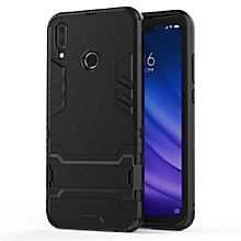 Huawei Y9 2019 Case Silicone Cover Anti-Knock Plastic Robot Armor Slim Phone Back Cases