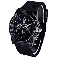 YouJianXiaoDian Sportmen'watcheGemiuArmy Watch Replicamilitary Style Sport Men Wristwatch Woven Watchband Watche5 Colors for sale  Nigeria