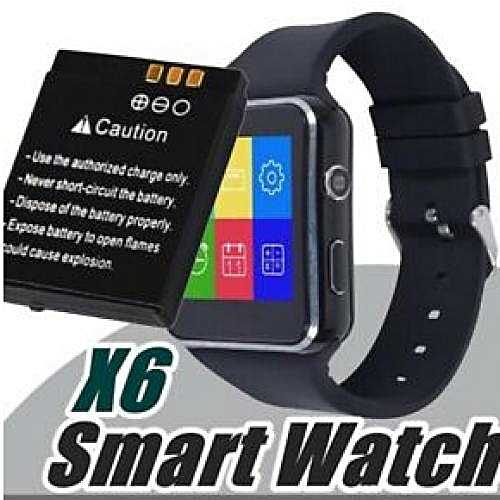 X6 Smartwatch Phone Curved Screen