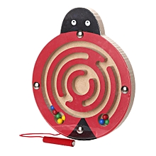 Braveayong Kids Magnetic Maze Toys Kids Wooden Game Toy Wooden Intellectual Jigsaw Board C -Multicolor for sale  Nigeria