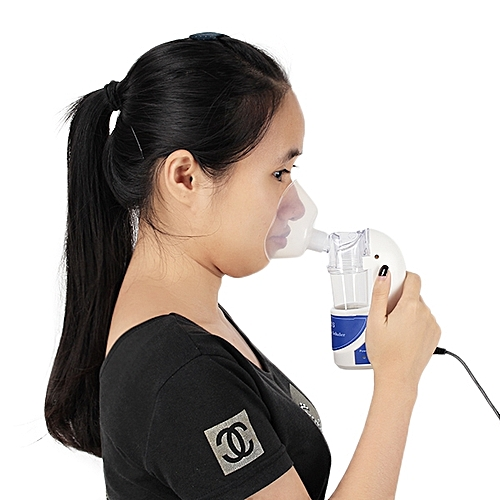 Mini Portable Light Weight Ultrasonic Steam Atomized Inhaler Household Asthma Nebulizer