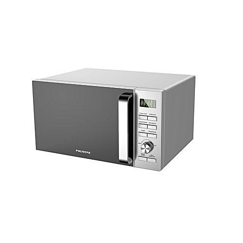 Microwave Oven With Grill - Express Cooking - 25Ltr - Silver PV-D25LS