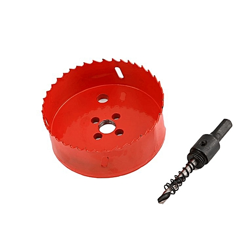 M42 1pc Opener Drill Bit Cutter Holesaw 16MM Drilling Hole Saw Carpentry Tool Red