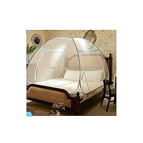 Mosquito Net Tent 6*6 And 7*7ft Standard Bed + Double Entry