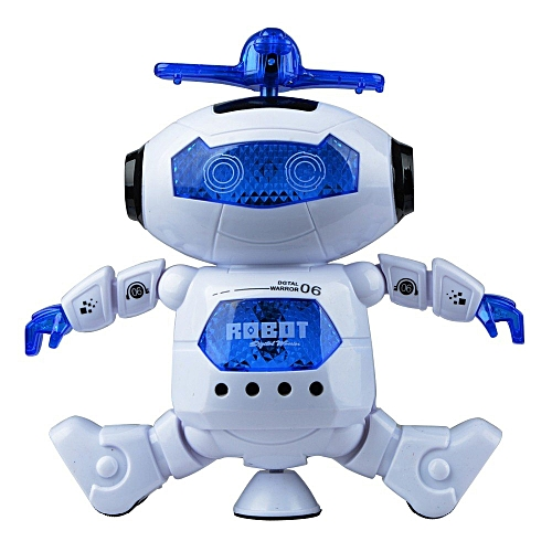 Smart Dance Robot Electronic Walking Toys With Music Light